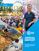 CMTEDD Annual Report 2015-16 Cover Artwork
